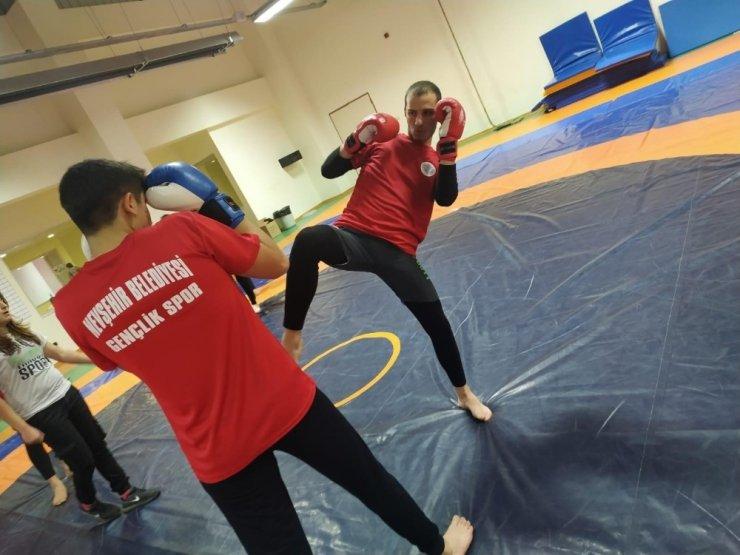 Nevşehir Belediyesi geleceğin sporcularını yetiştiriyor