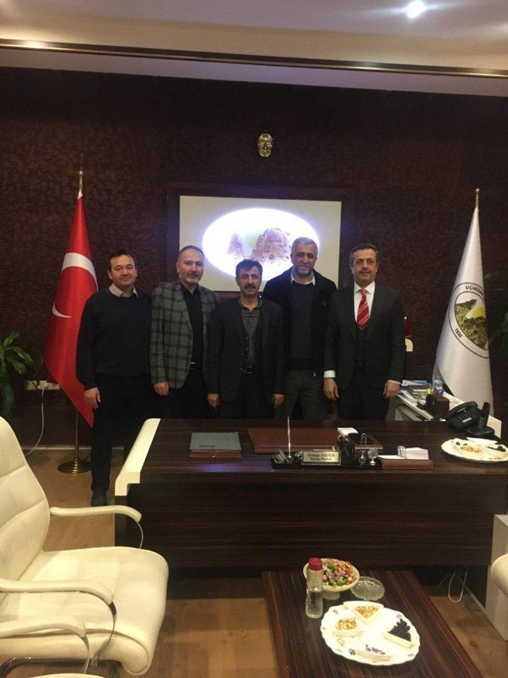 NUDER'den Uçhisar Belediye Başkanı Süslü'ye ziyaret