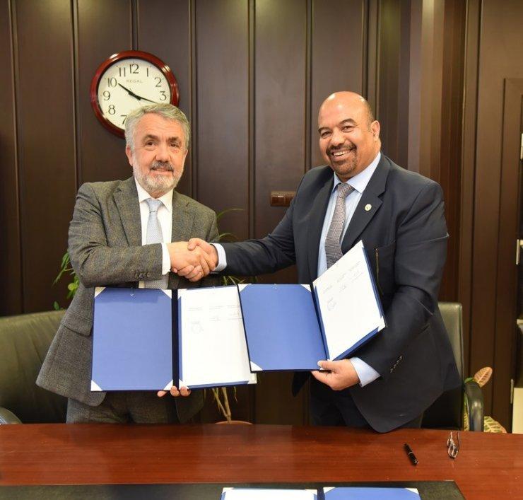 OMÜ'den uluslararası iş birliği anlaşması