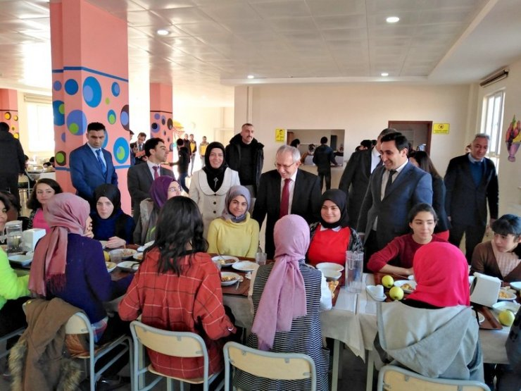 Genel Müdür Bilgili'den özel eğitim okullarına ziyaret