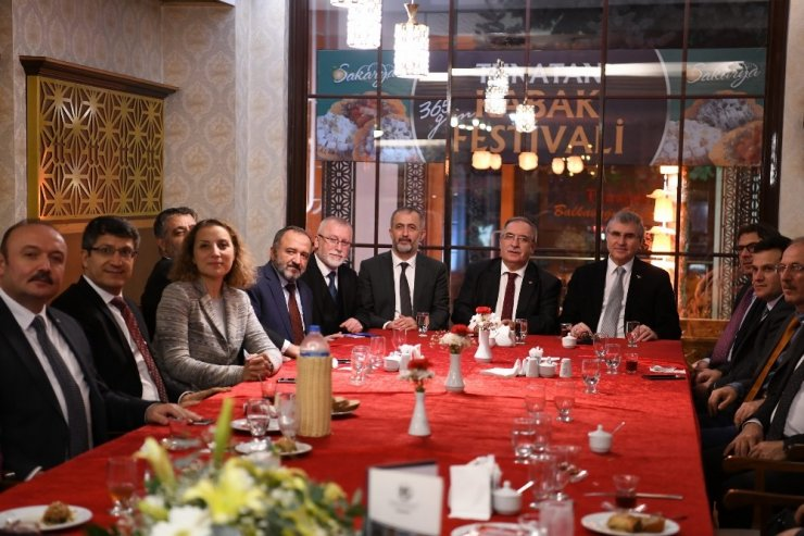 Rektör İbrahim Taş, Batı Karadeniz Üniversiteler Birliği toplantısına katıldı