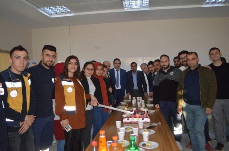 Sağlık-Sen Paramedikler Günü'nü kutladı