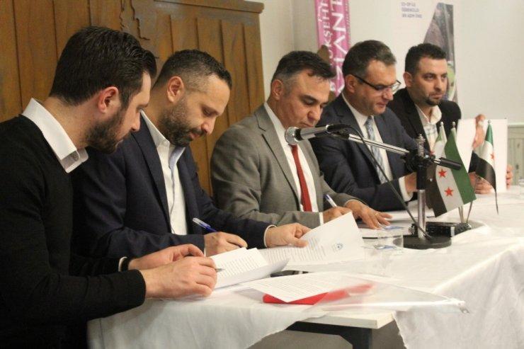 Suriye'ye yardım STK'ları KALMEC öncülüğünde birleşti