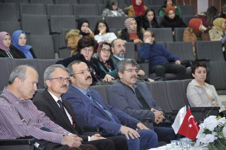 """Selçuk'ta """"Sultan Şairler ve Bestekarlar"""" konferansı yapıldı"""