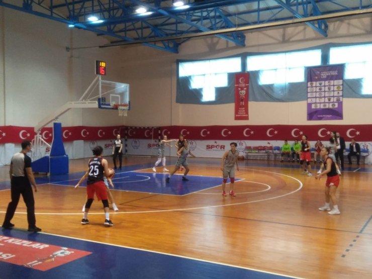 Kastamonu All Star Kadın Basketbol Takımı, ilk galibiyetini aldı