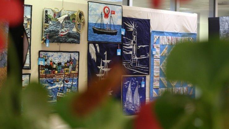 'İyi ki Varsın Kırkyama' sergisi Maltepe'de açıldı