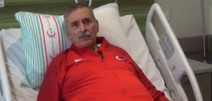 Meksikalı hasta Türk doktorlarına ay-yıldızlı doğum günü kutlaması ile teşekkür etti