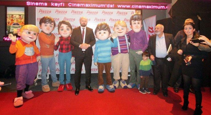 """""""Rafadan Tayfa Göbeklitepe"""" filminin galası Şanlıurfa'da yapıldı"""
