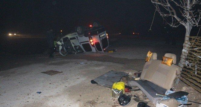Takla atan araçtaki yaralılardan 2'si daha öldü
