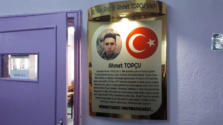 Barış Pınarı Harekâtı'nın ilk şehidine vefa