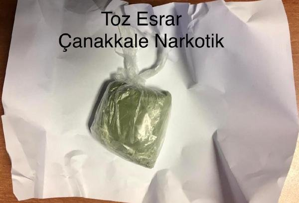 Çanakkale'de uyuşturucuya 3 tutuklama