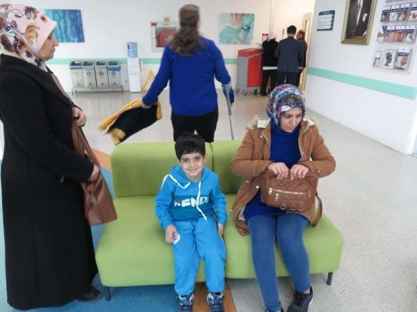 Erdoğan tedavisini üstlendi; Taha'nın tedavisi başladı