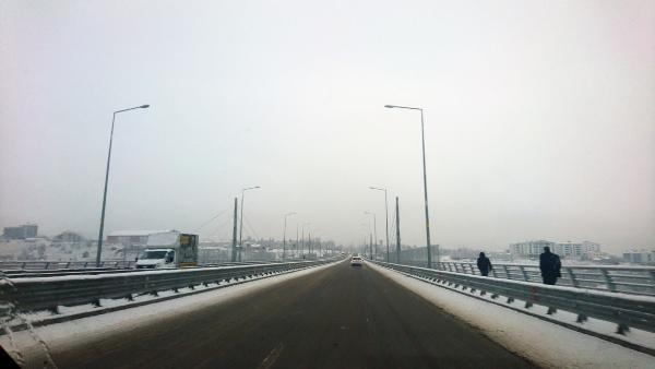 Bingöl'de 100 köy yolu kardan kapandı