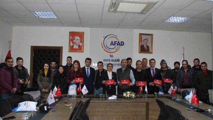 Konya AFAD'da İlk Yardım temalı toplantı