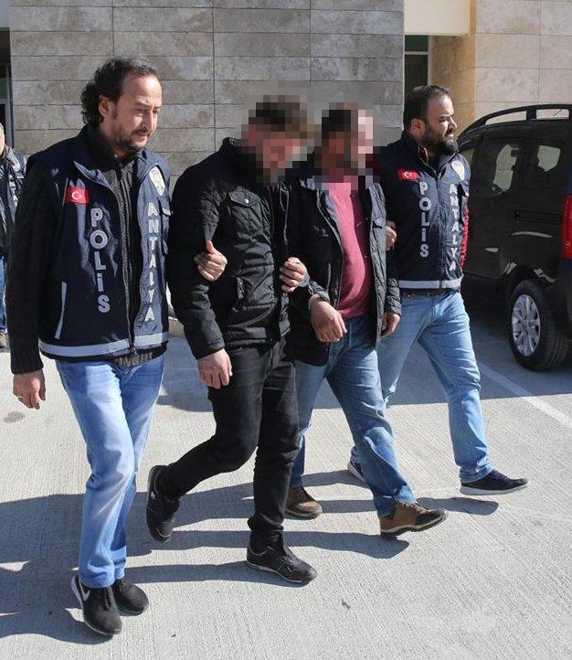 Cinsel saldırıda bulunup, şantaj ve gasp yapan 6 kişiye gözaltı