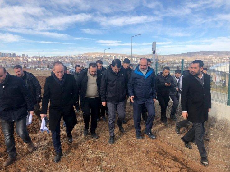 Başkan Altay deprem bölgesini ziyaret etti