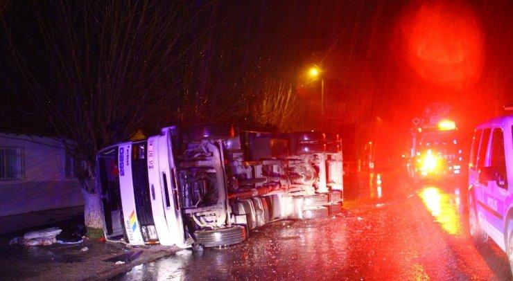 Aydın'da şaşırtan kaza
