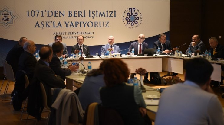Selçuklu Medeniyeti Tarih ve Kültür Müzesi çalıştayı yapıldı