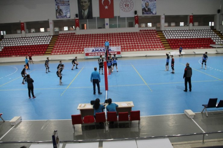 Amasya'da voleybol heyecanı