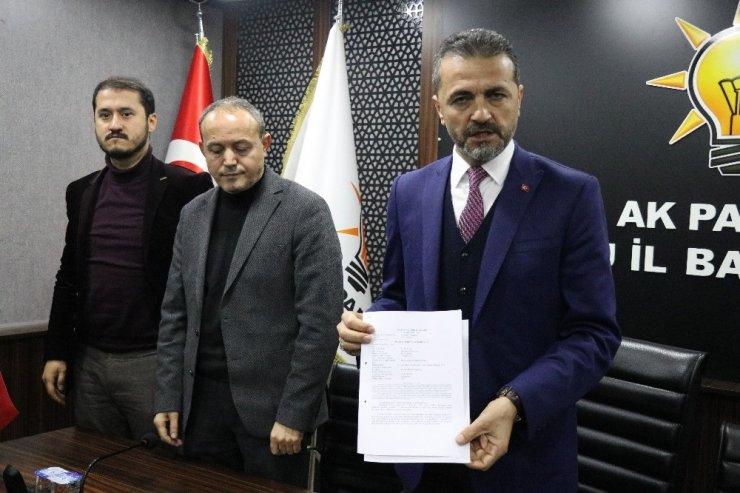 AK Parti İl Başkanından Bolu Belediye Başkanına suç duyurusu
