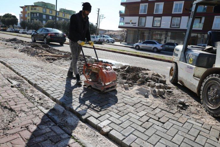 Akhisar'da ortak yol tamir protokolü
