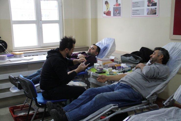 Amasya'da kan bağışı