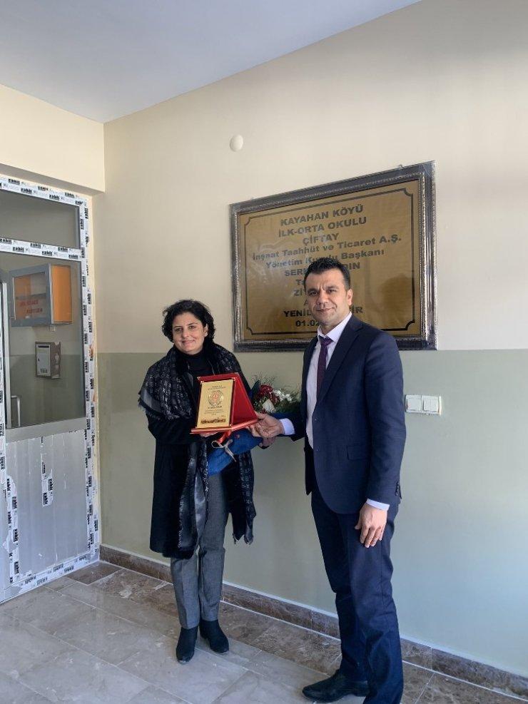 Ankaralı iş kadınından Kulp'a eğitim desteği