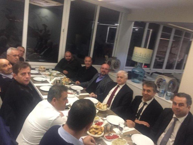 Oda başkanlıkları ve belediye yemekte bir araya geldi