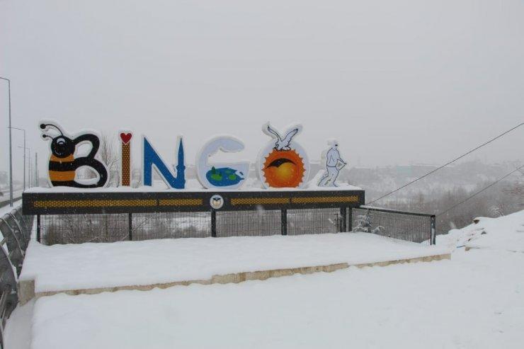 Bingöl'de kar çocuklara eğlence oldu