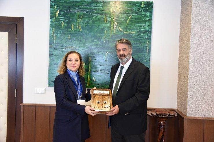 Düzce Üniversitesi, Karabük Üniversitesi heyetini ağırladı