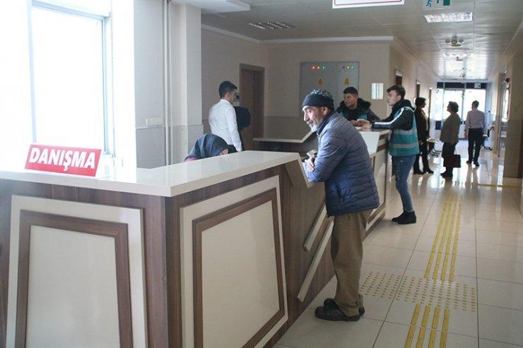 Gediz Adliyesi'nde 'Ön büro ve danışma masaları' hizmete sunuldu