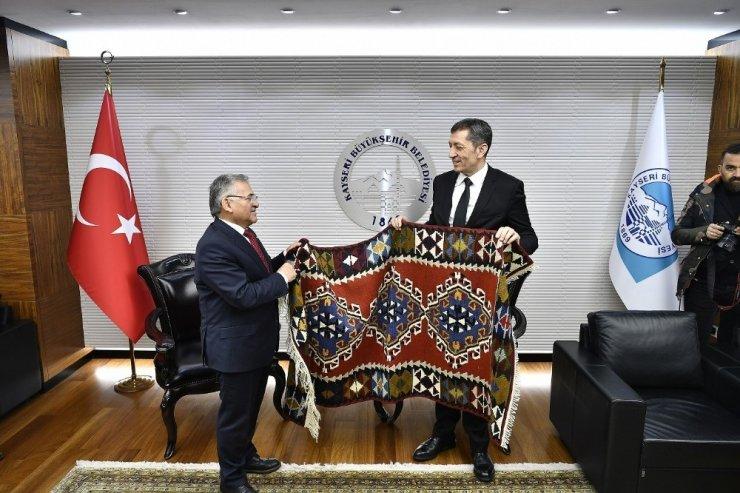 Milli Eğitim Bakanı Büyükşehir'de