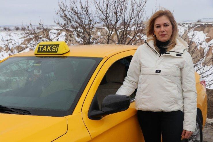 Şoför Nebahat'ı örnek aldı, taksi şoförü oldu