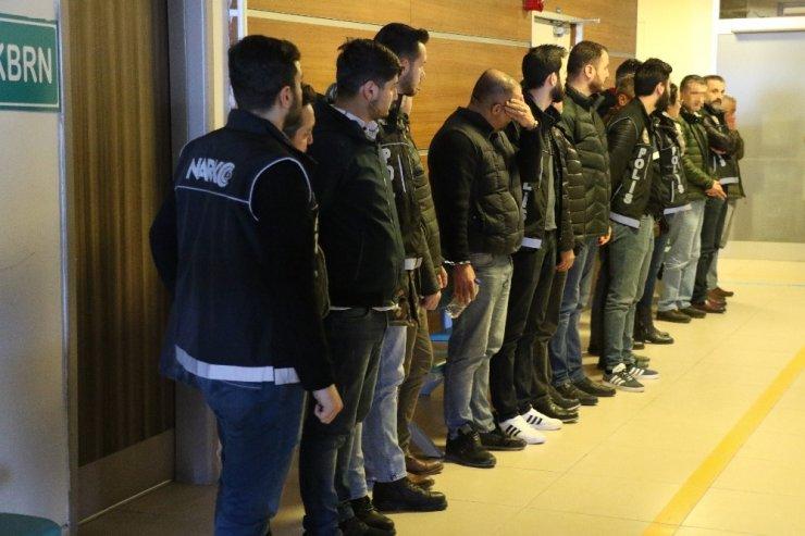 Kapıkule'de dev uyuşturucu operasyonu: 11 gözaltı
