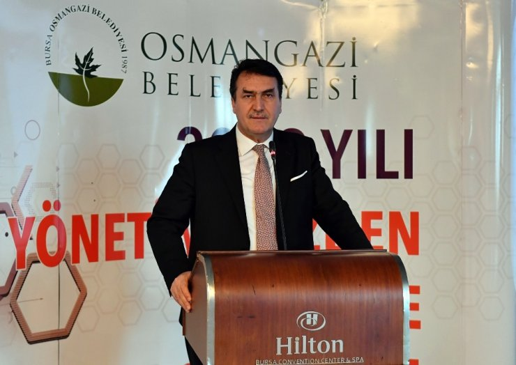 Osmangazi Belediyesi 2019 yılını değerlendirdi