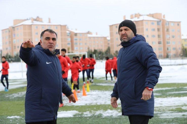 Nevşehir Belediyespor, MODAFEN maçı için hazırlıklarını tamamladı