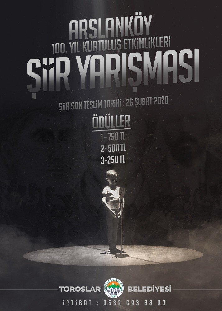 Arslanköy'ün kurtuluş mücadelesi şiirlerle anlatılacak