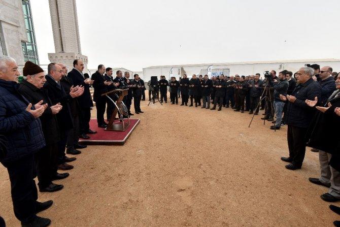 Konya'da Aziz Mahmut Hüdai Camisi açıldı