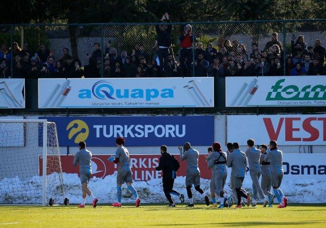 Trabzonspor, Demir Grup Sivasspor maçı hazırlıklarına başladı