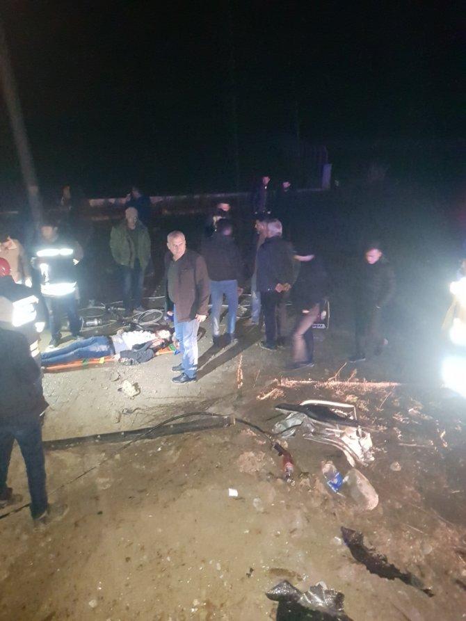 Konya'da araç takla attı: 1 ölü