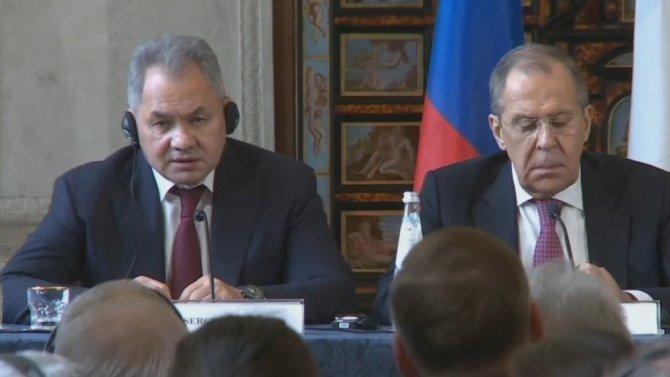 Rusya Savunma Bakanı Şoygu: