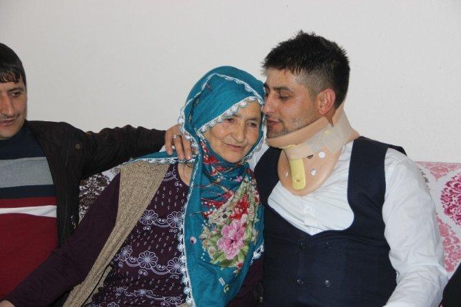 İdlib gazisi Uzman Onbaşı Kaplan ailesine kavuştu ile ilgili görsel sonucu