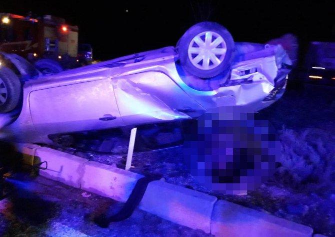 Yolcu otobüsü ile otomobil çarpıştı, aynı aileden 3 ölü