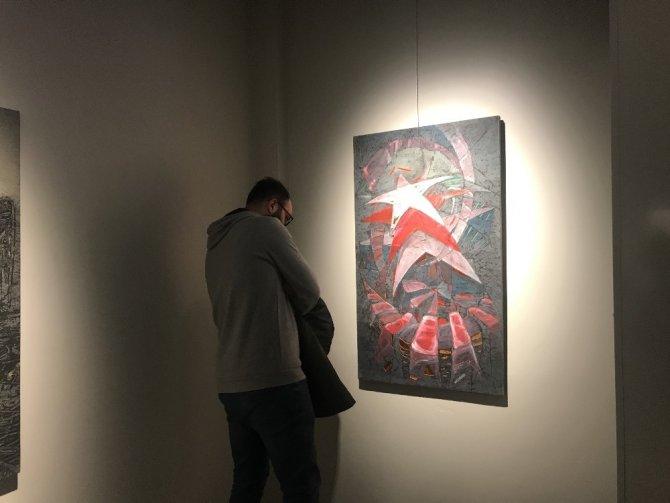 MEDAŞ Sanat Galerisinde 'Yansımalar' resim sergisi