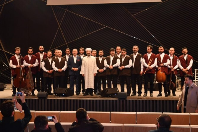 Diyanet İşler Başkanı Erbaş'tan 3 aylar mesajı