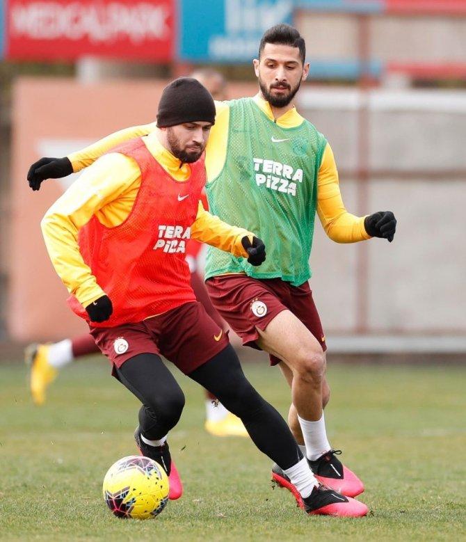 Galatasaray'da Gençlerbirliği hazırlıkları devam ediyor