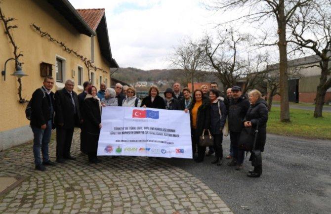 DOĞTARBESBİR heyetinden Almanya'ya çalışma ziyareti