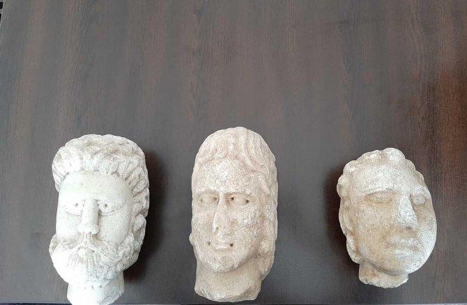 Denizli'de tarihi eser operasyonu: 3 gözaltı
