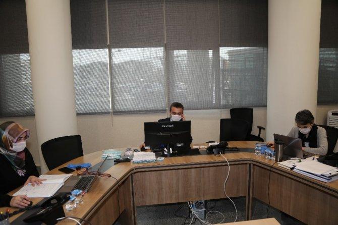 Operasyon Merkezi korona hastalığı mücadelesinde 7/24 çalışıyor
