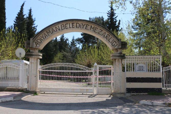 Adıyaman'da mezarlık ziyaretleri yasaklandı
